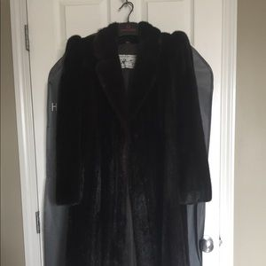 Jackets & Blazers - Vintage mink fur coat